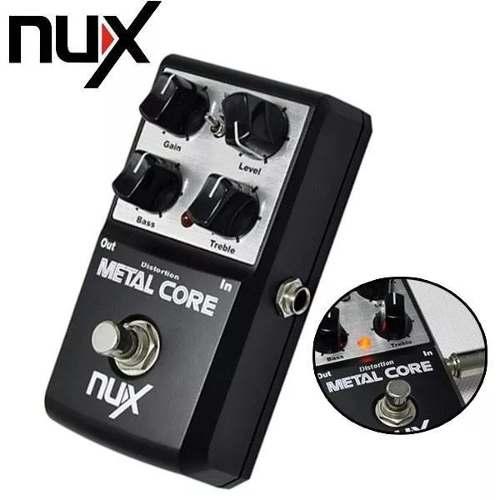 Metal Core Overdrive Nux Pedal De Efectos Para Guitarra