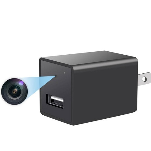Mini Camara Espia Oculta Cargador Usb Con Disco 32gb Spy Hd