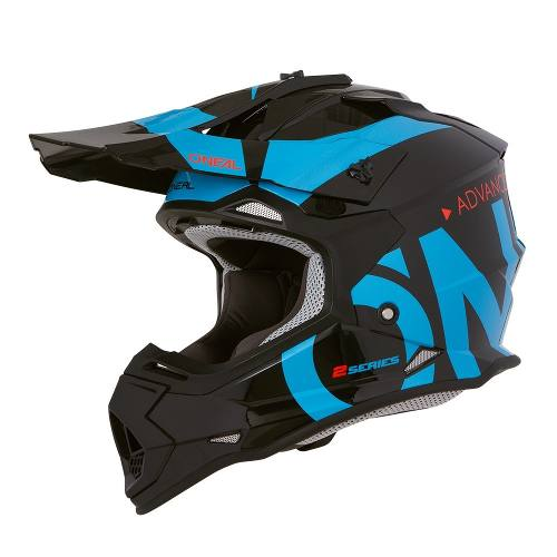Casco Oneal Motocross Enduro Mtb 2 Series Slick Azul