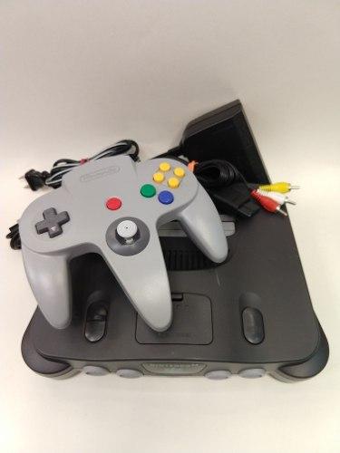 Consola Nintendo 64 Gris En Excelente Condicion Animate!!!