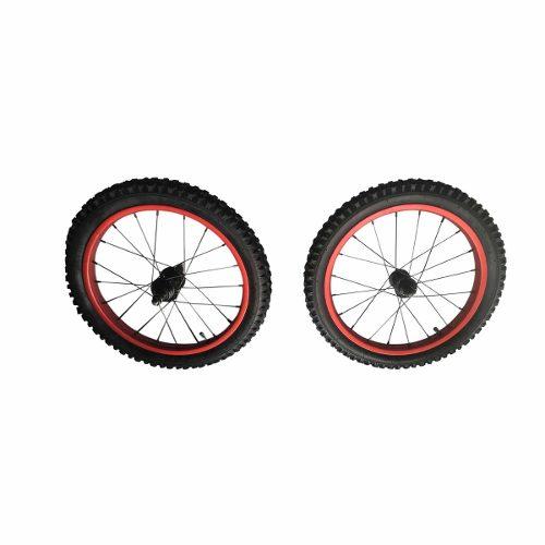 Juego De 2 Llantas 16 X Con Rin Para Bicicleta Niño