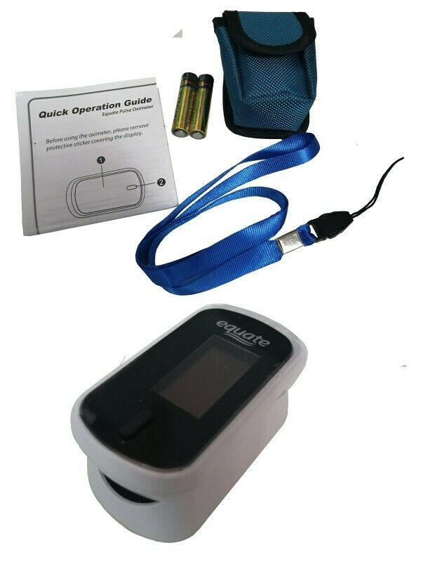 Monitor Presion Arterial Ritmo Cardiaco Dedo Equate Oximeter
