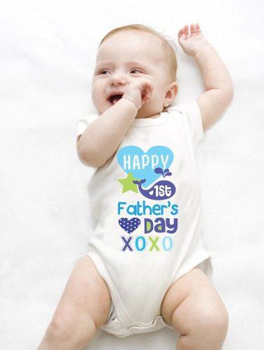 Pañalero Primer Día Del Padre Niño Niña Envío Gratis