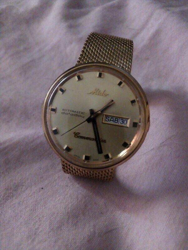 Reloj mido commander,automatico en estuche original,