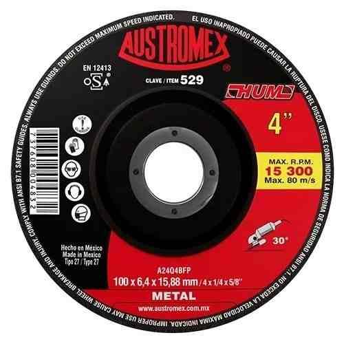 Disco Desbaste De Metal 4 Austromex 529