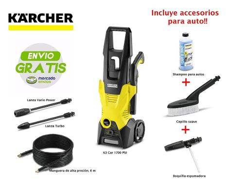Hidrolavadora Karcher K3 Car  Psi + Accesorios Gratis!