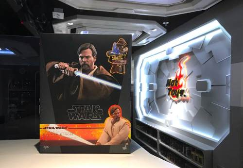 Hot Toys Star Wars Rots Obi Wan Kenobi Deluxe 1/6 En