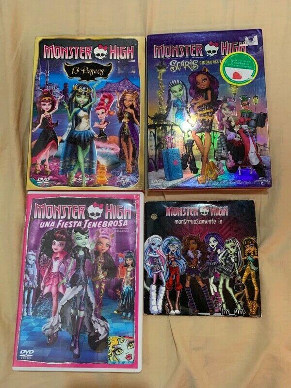 5 películas de caricaturas originales Monster High