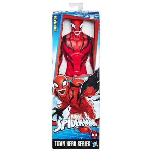 Carnage Figura 30cm Spiderman Hombre Araña Titan Hero