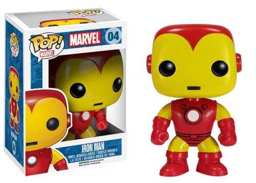 Figura Accion Funko Pop Marvel Muñeco Iron Man Geekend