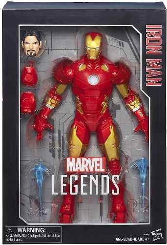 Iron Man Legends Muñeco Figura Iron Man Marvel Envio.