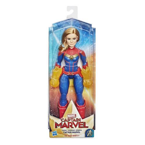 Muñeca Figura Acción Capitana Marvel Cósmica Hasbro