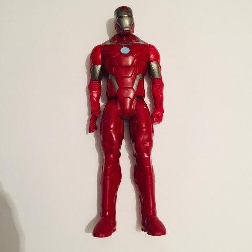 Muñeco Mono Figura Iron Man Rojo 29cm Marvel