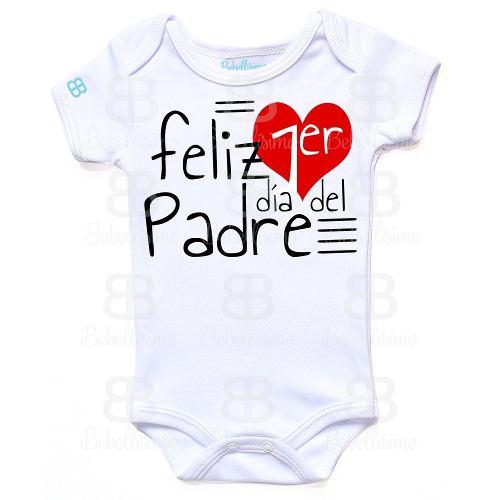 Pañalero Feliz Primer Día Del Padre Envío Incluido