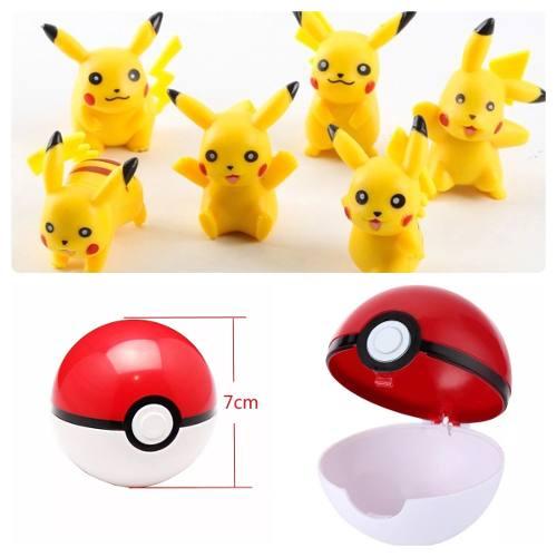 Pokebola + 1 Pikachu Al Azar Pokemon Go Envío Es Gratis