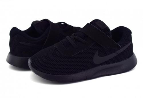 Tenis Nike Tanjun Negro Bebe Niño  Nkjr