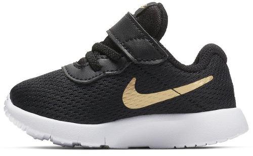Tenis Nike Tanjun Negro/dorado Bebe  Nkj104