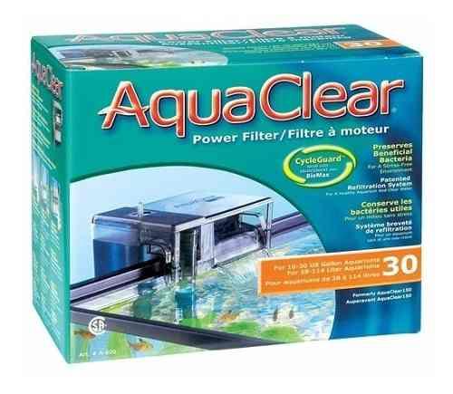 Filtro Externo De Cascada Aqua Clear 30 Para 150 Litros
