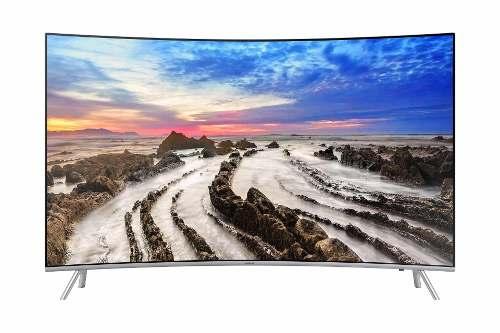 Pantalla Curva Led Samsung Tv 55 4k Smart Hdr Un55mu