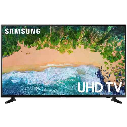 Pantalla Samsung 55 Smart Tv 4k Hdr Quad Uhd Slim Design