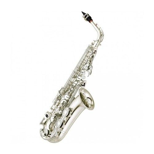 Saxofón Alto Yamaha Yas280s Plateado Llave Fa# Y Fa Frontal