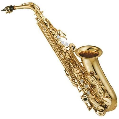 Saxofón Alto Yamaha Yas480 Intermedio Llave Fa# Y Fa