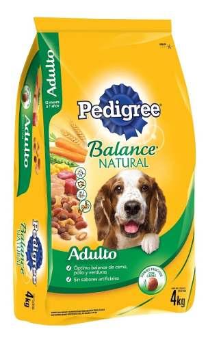 Alimento Para Perro Pedigree Balance Natural Adulto 4 Kg