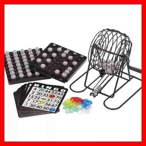 Set Juego Bingo Juego De Mesa Con Accesorios Familiar Nuevo