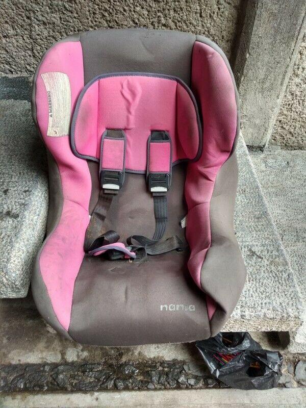 Silla para bebé para auto usada
