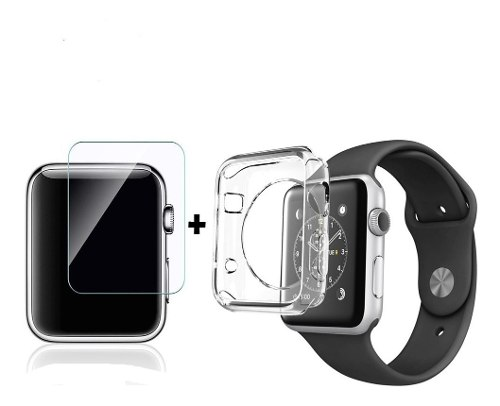 Case Protector Tpu Apple Watch Iwatch Serie  + Regalo