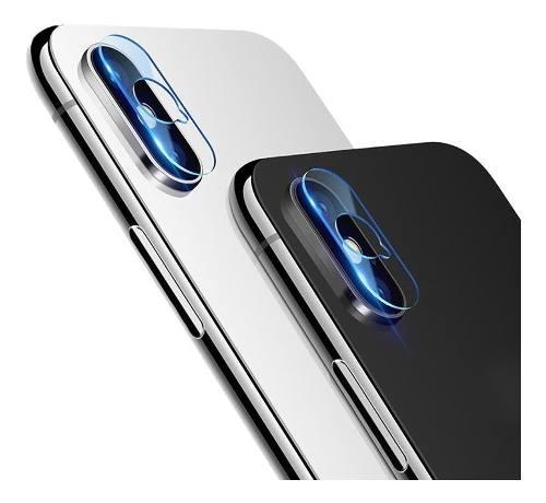 Mica Lente iPhone X Xs Max Cristal Templado Camara Mayoreo