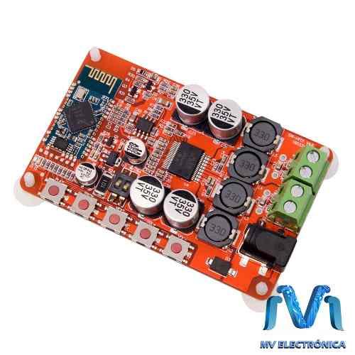 Modulo Amplificador De Audio Tdap Con Bluetooth 4.0 2x25