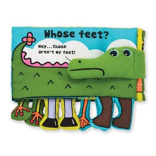 Soft Activity Book - Whose Feet? Libro Suave Melissa And Dou