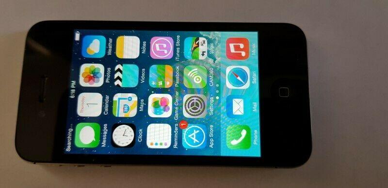 iPhone 4s 8 GB Negro Verizon (NO SIM CARD SLOT)