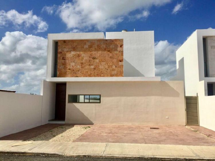 Casa 3 recámaras en venta al Norte de Mérida, Yucatán,