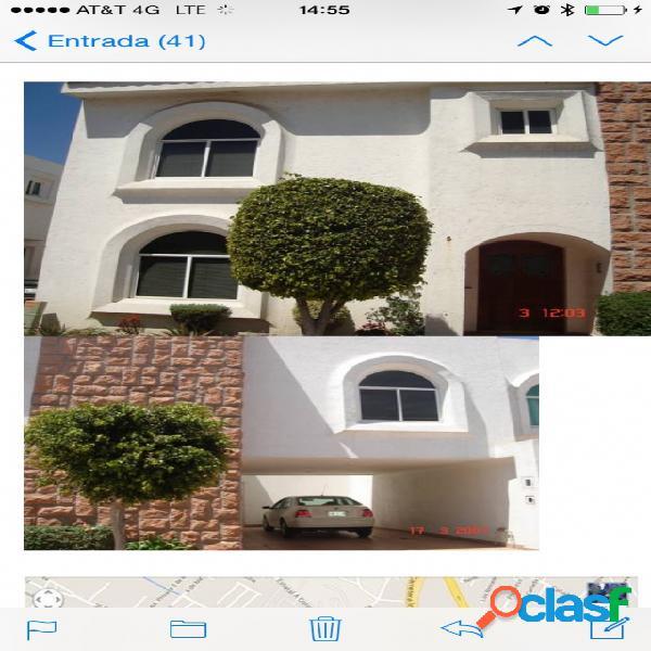 Casa sola residencial en renta en Fraccionamiento Jardines