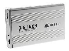 Case Gabinete Sata Aluminio Disco Duro 3.5 Pc Envio Gratis