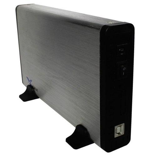 Gabinete Case Usb 2.0 Para Disco Duro 3.5 Sata E Ide Pc Mac