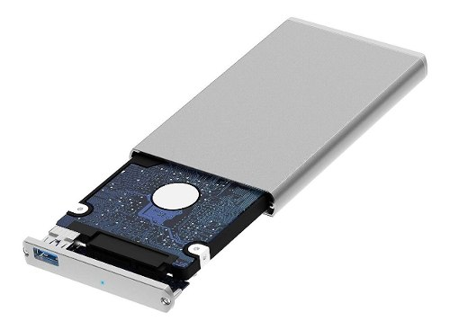 Gabinete Usb 3.0 Disco Duro Ssd/hdd Sabrent Ec-um30 Aluminio