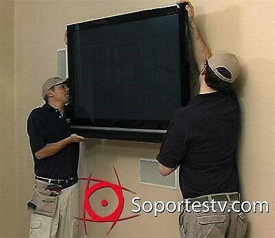 Instalación de soportes para pantallas teleform.