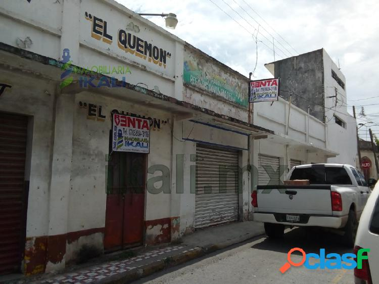 Locales en venta centro Tuxpan Veracruz excelente