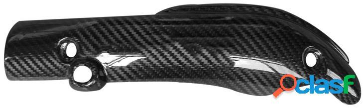 Protector tubo de escape de fibra de carbono. Yamaha R1,