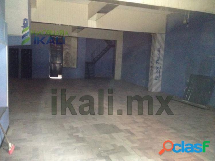 Renta de local comercial en Veracruz, Alamo zona centro,