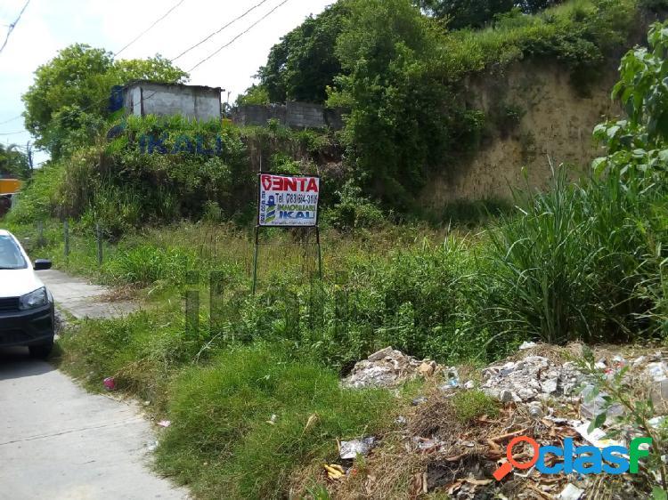 Rento terreno de 1500 m² en colonia Centro de Tuxpan