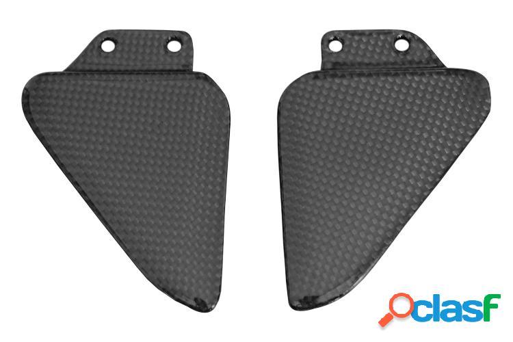 Taloneras traseras para el pasajero de carbono para Ducati,