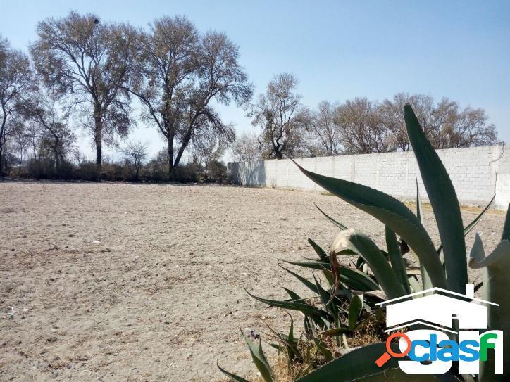 Terreno en venta San Jose Chiapa cerca de la AUDI