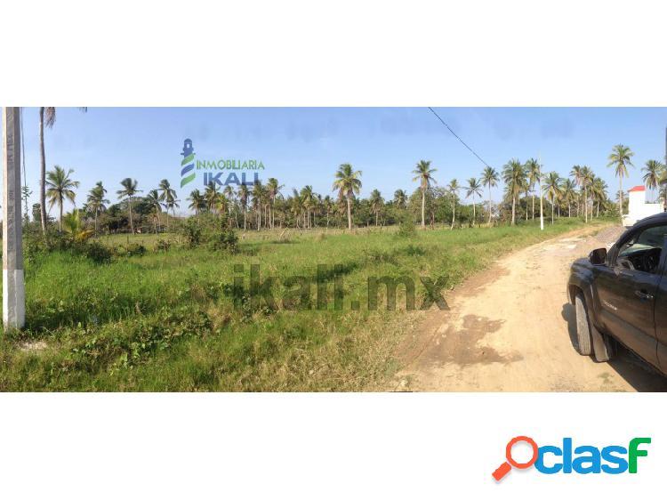 Terreno en venta de 570 m² Fracc Las Palmas Tuxpan