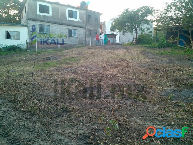 Terreno en venta en Tuxpan Ver, 1965 m² en col. Anahuac,