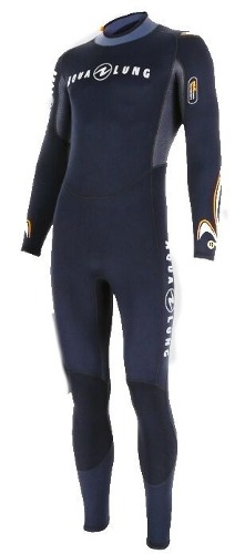 Traje Wetsuit Dive Full De 3mm Aqualung Para Hombre Buceo