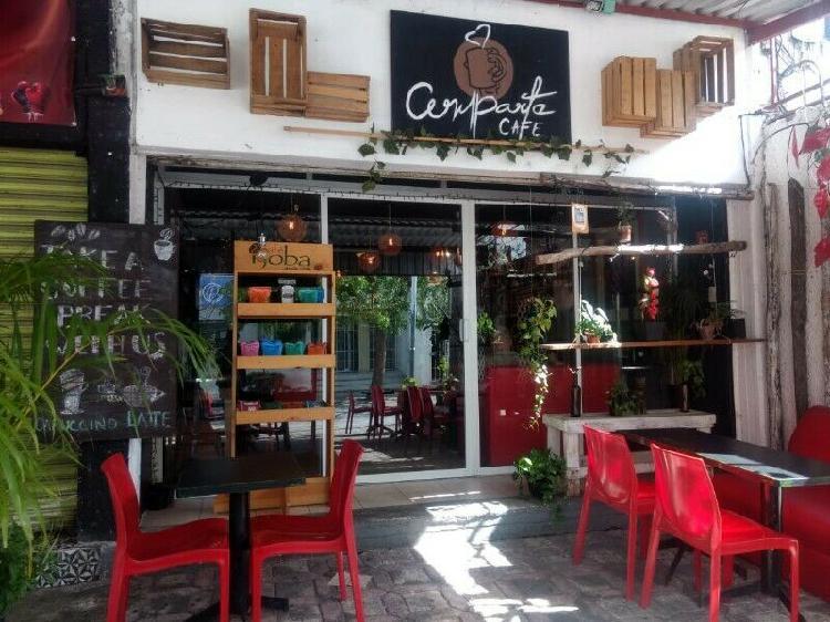 Traspaso Cafeteria en centro de cancun.